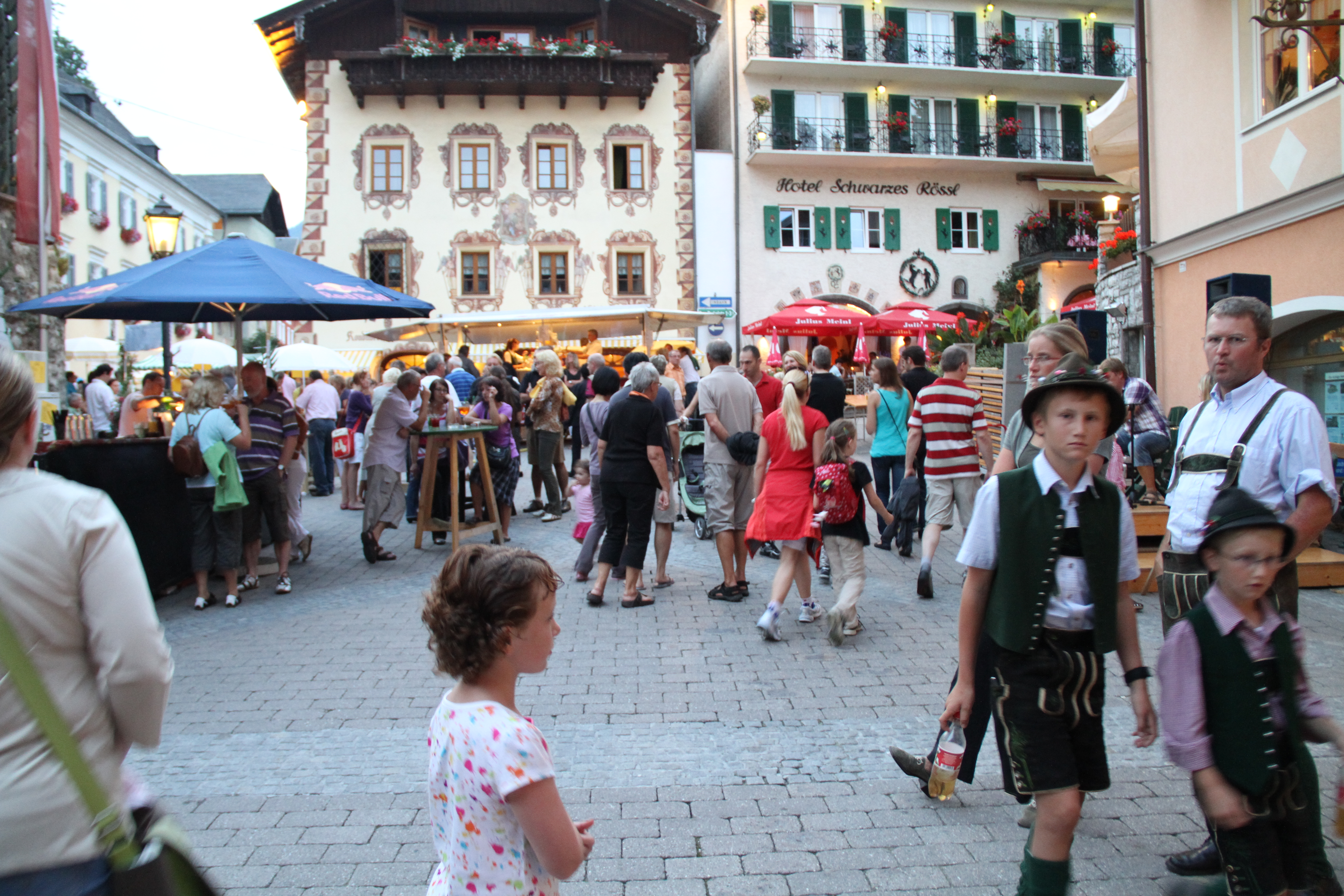 St wolfgang im salzkammergut from spaetzle to spaten sydney at the beer festival in st wolfgang austria sciox Images